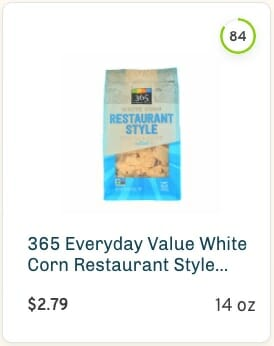 365 Everyday Value Restaurant Style Tortilla Chips