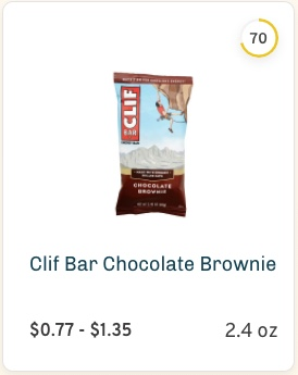 Clif Bar Chocolate Brownie Nutrition and Ingredients