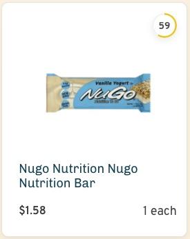 Nugo Vanilla Yogurt Bar Nutrition and Ingredients