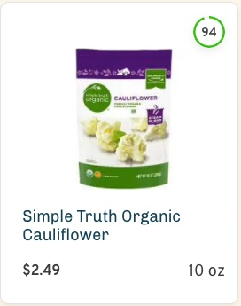 Simple Truth Organic Cauliflower