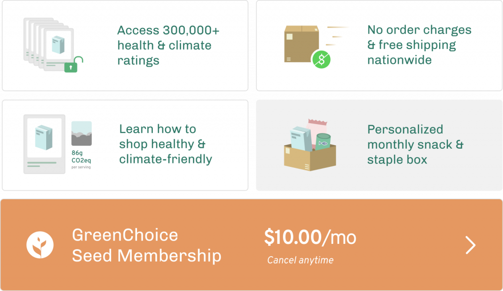 GreenChoice Seed membership