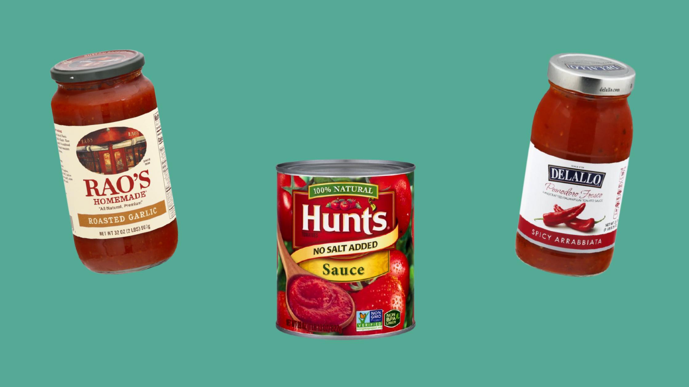 sugar-free tomato sauce